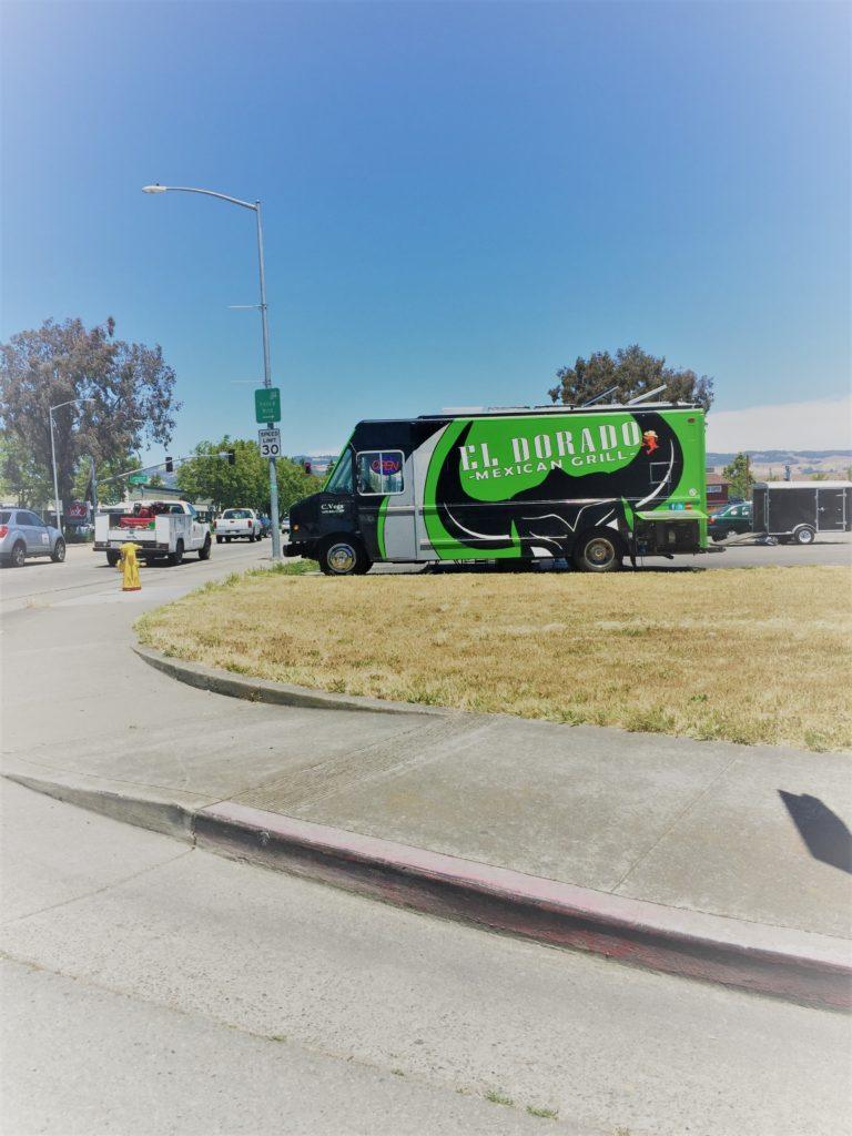 Food truck heaven just off Highway 101 in Petaluma, Calif. Photo credit: M. Ciavardini