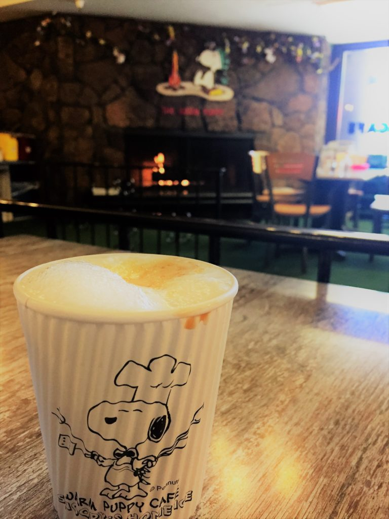 Stop by the Warm Puppy Cafe for a cappuccino or a peppermint hot chocolate on your visit to the Charles M. Schulz Museum in Santa Rosa, Calif. Photo credit: M. Ciavardini