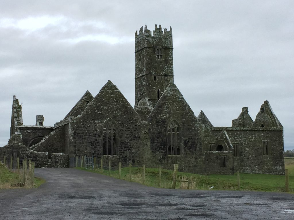 Ross Errilly was a Franciscan friary originally built in the 1300s. Photo credit: M. Ciavardini