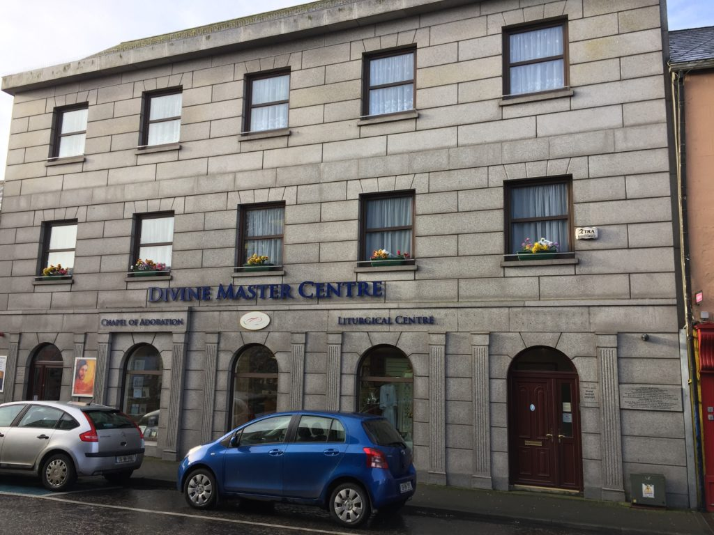 Look closely at this building in Athlone, Ireland, to see the memorial dedicated to Titanic passengers from the area. Photo credit: M. Ciavardini