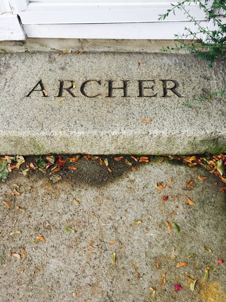 Jonathan Archer was, among other things a cordwainer (shoemaker). He lived from about 1671 to 1746 in Salem, Mass. Photo credit: M. Ciavardini