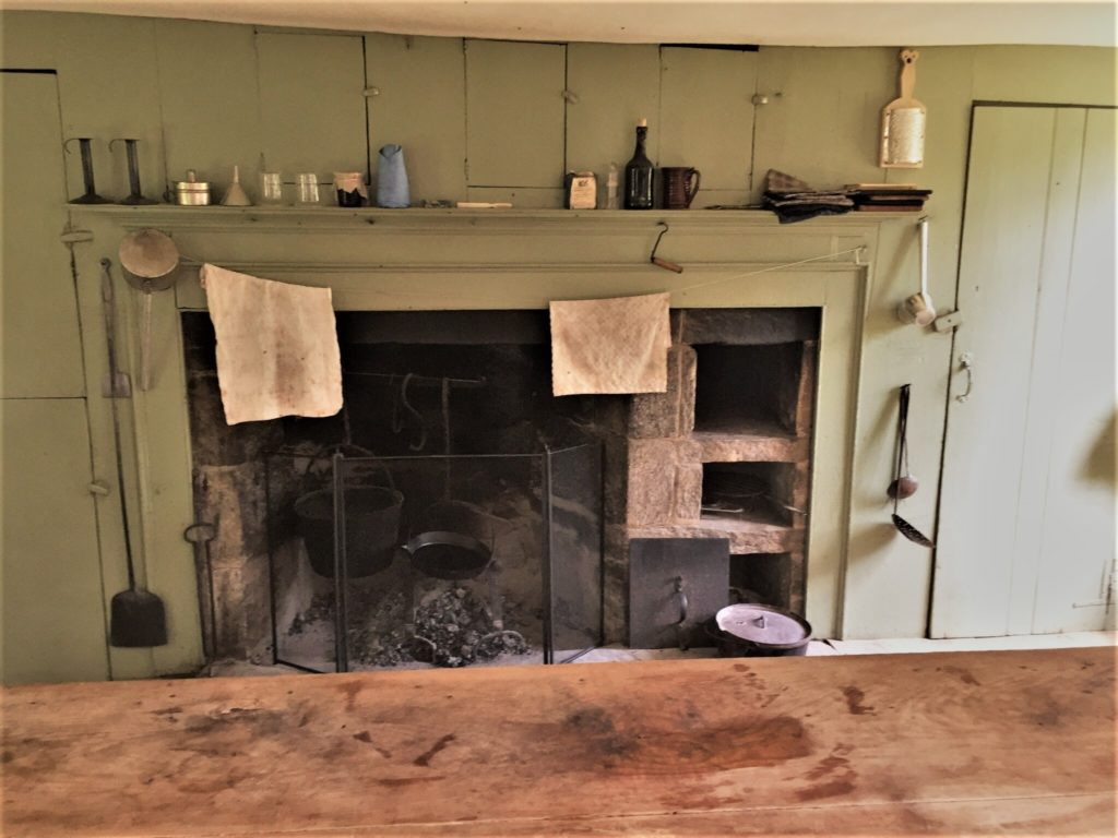 Would you be able to make your way around an 1800s kitchen? Pictured, a kitchen in one of the houses at Old Sturbridge Village in Massachusetts. Photo credit: M. Ciavardini