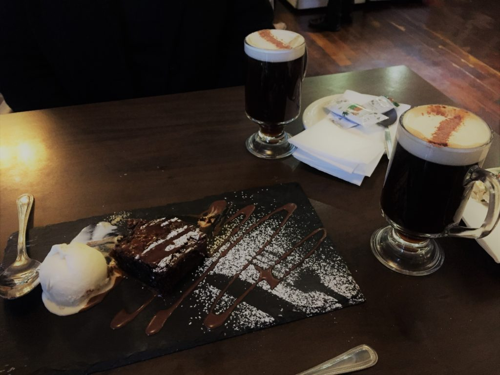 A sweet indulgence at the Huntsman Inn in Galway, Ireland. Photo credit: M. Ciavardini