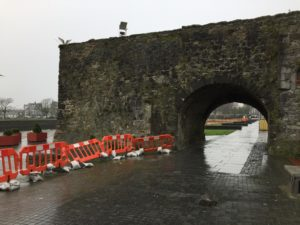 The Spanish arch in Galway was constructed in the 1500s. Photo credit: M. Ciavardini