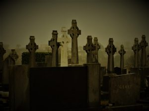 Indulge in a little cemetery tourism in Galway, Ireland, with a visit to New Cemetery, Bohermore. Photo credit: M. Ciavardini
