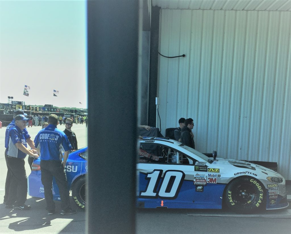 Car no. 10 is driven by Danica Patrick. Photo credit: M. Ciavardini.