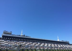 A daytrip to a NASCAR race at Pocono Raceway proves to be great fun even for a visitor not too familiar with stock car racing. Photo credit: M. Ciavardini.