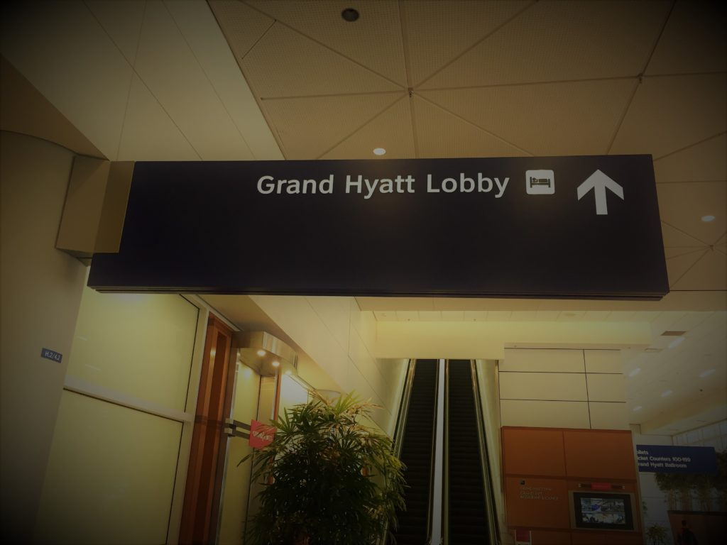 Ultimate convenience at DFW: The Grand Hyatt Dallas Fort Worth is located in Terminal D of the airport. Photo credit: L. Tripoli.