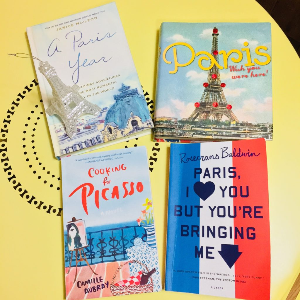 Four helpful and interesting books on Paris